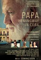 PapaHemingwayInCuba-poster